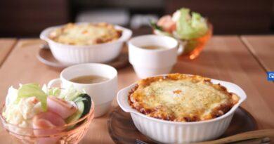 Japanese Meat Sauce Rice Casserole (Doria)