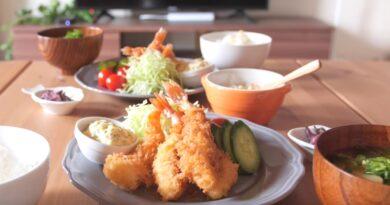 Japanese Fried Shrimps (Ebifurai)